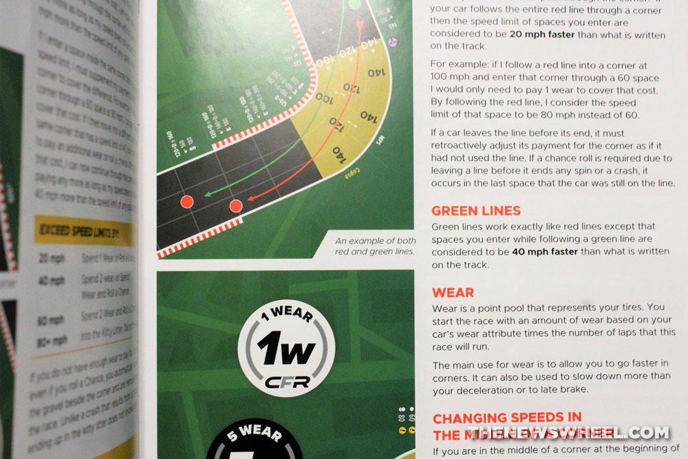 Championship Formula Racing review car race board game motorsports simulation instructions