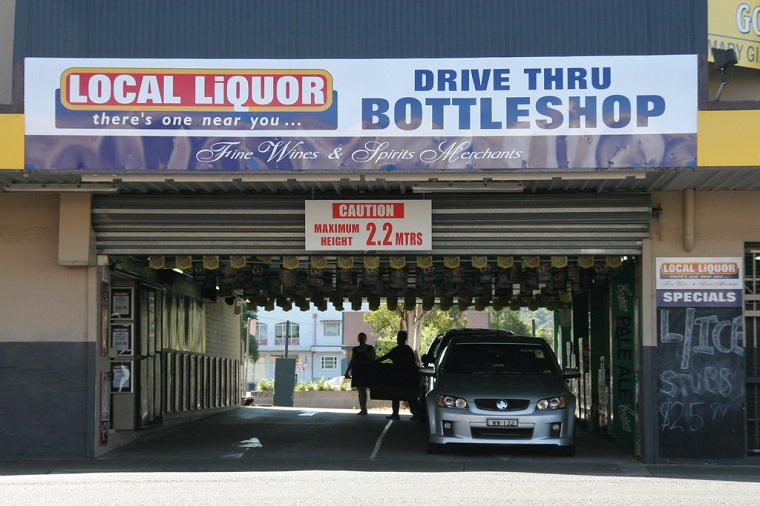 Alcohol Drive-Thru Wheel Sales in News States: The Legal 30 -