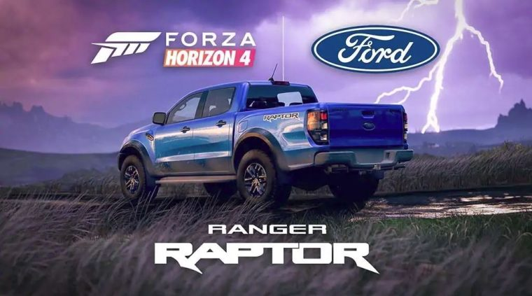 Ford Ranger Raptor in Forza Horizon 4