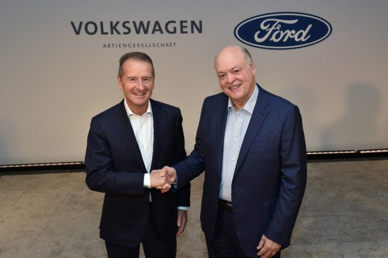 Ford and Volkswagen expand global alliance