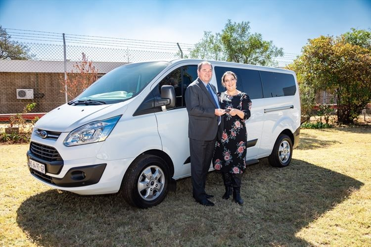 Ford donates Tourneo Custom to SHE-MOVES in SA
