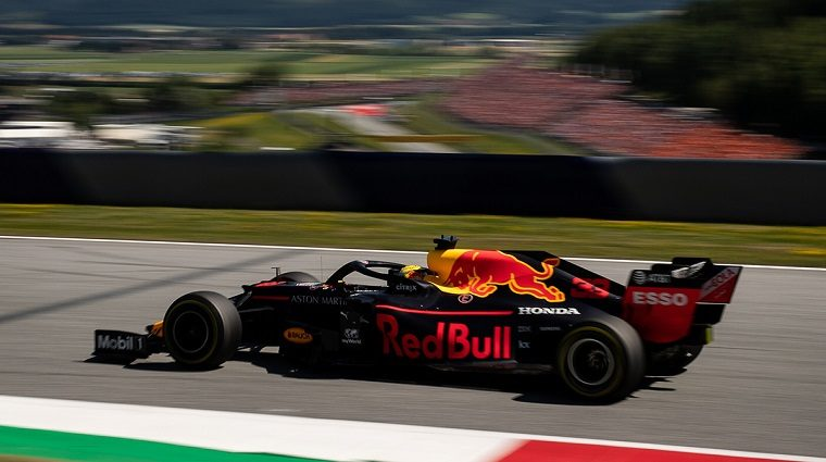 Verstappen in RB15 at 2019 Austrian GP