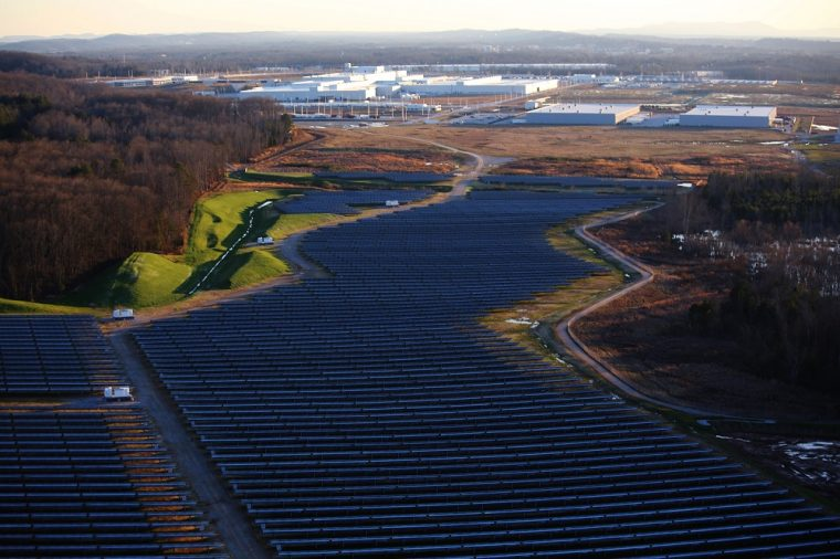 Volkswagen Chattanooga Manufacturing Plant Carbon Neutral