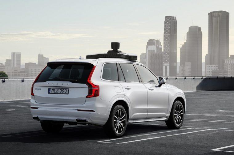 Volvo Uber Self-Driving XC90 Autonomous Car