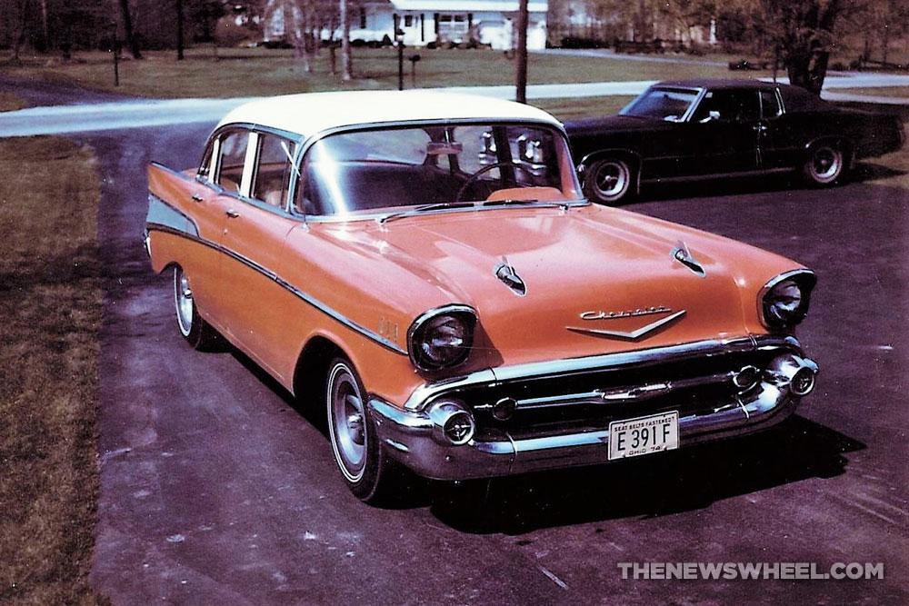 1957 Chevrolet classic car childhood nostalgia family memories