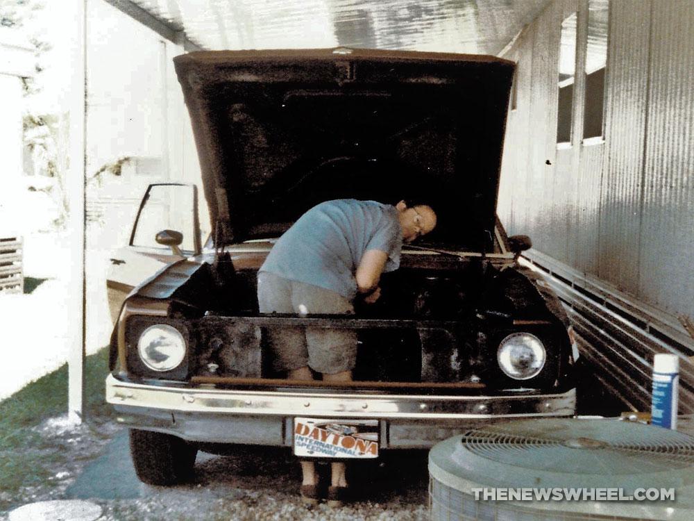 1978 Chevrolet Nova classic car engine rebuild modify