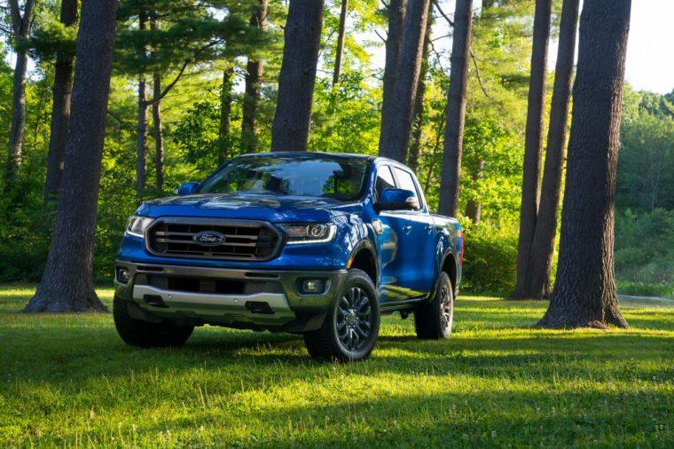 2019 Ford Ranger FX2 Package | Satnav Breadcrumbs Navigation
