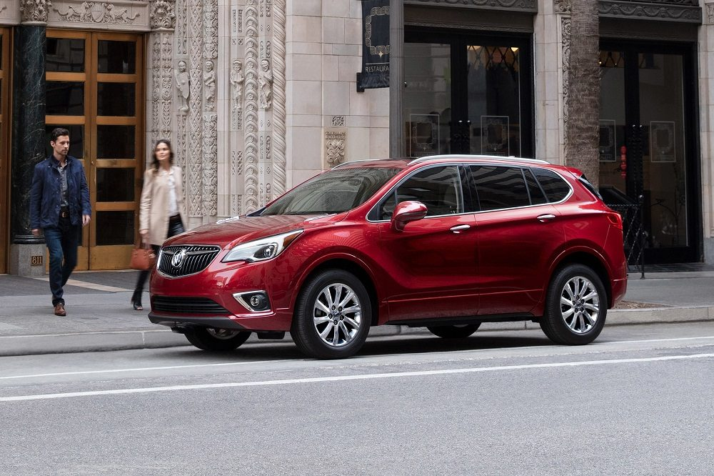 2020 Buick Envision Essence Exterior. Envision S
