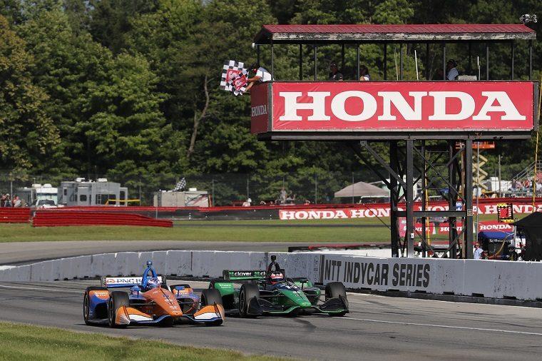 Dixon Leads Honda Podium Sweep at Mid-Ohio