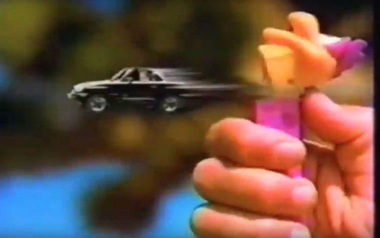 Funny nostalgic 90s car commercial Suzuki X-90 Pez dispenser car