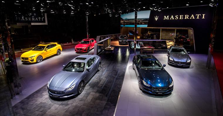 Maserati Lineup at 2019 Shanghai Auto Show