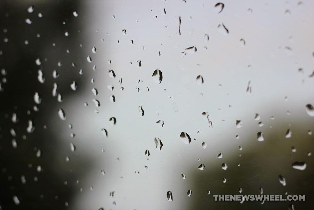 Rain window windshield wet moisture condensation