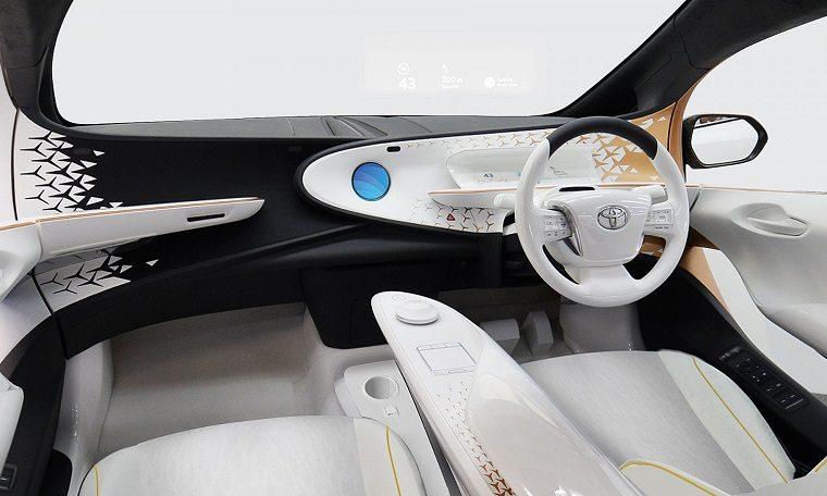 Toyota i-car interior