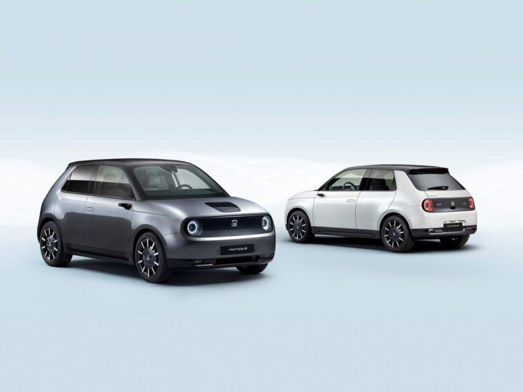 Honda e electric car europe