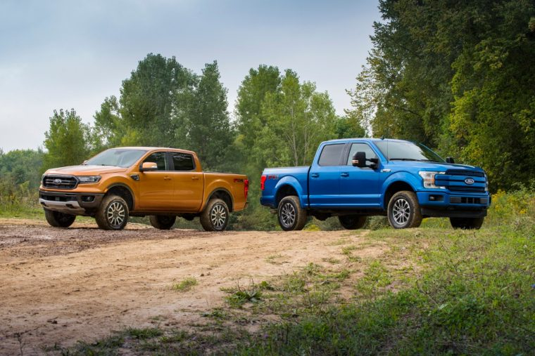 2019 Ford Ranger and F-150 off-road leveling suspension kit