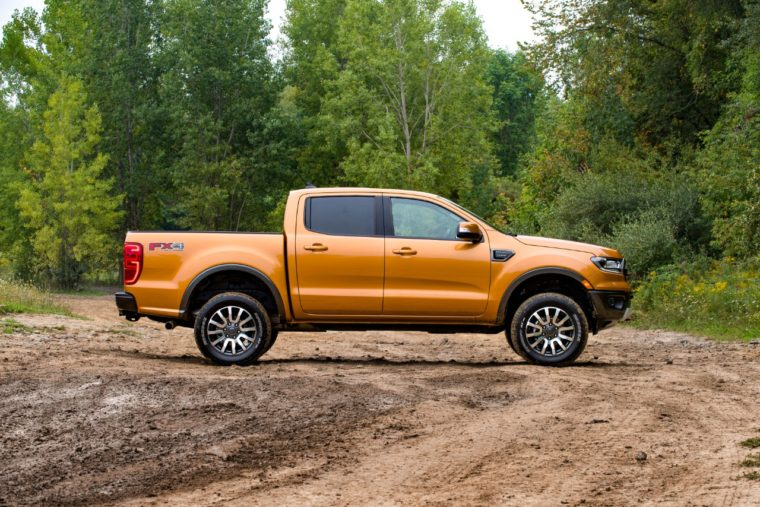 2019 Ford Ranger off-road leveling suspension kit