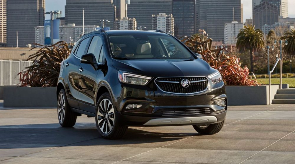 The J.D. Power award-winning 2020 Buick Encore. Encore is one of the best used cars.