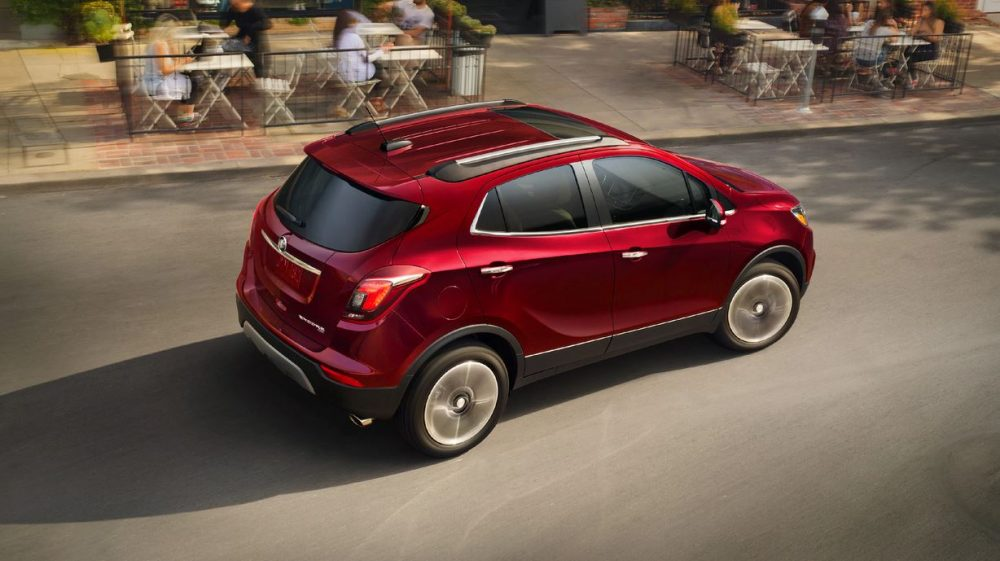 The J.D. Power award-winning Buick Encore