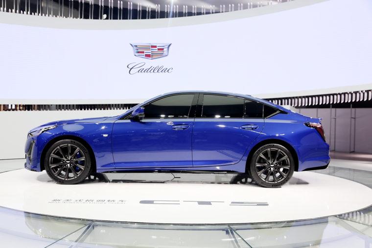 Cadillac Ct5 Debuts In China At Chengdu Motor Show The News Wheel