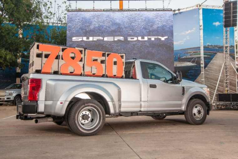 2020 Ford Super Duty Best-in-Class Payload