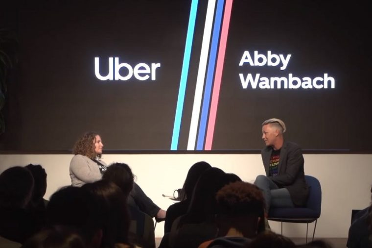 Abby Wambach Wolfpack Uber HQ Fireside Chat