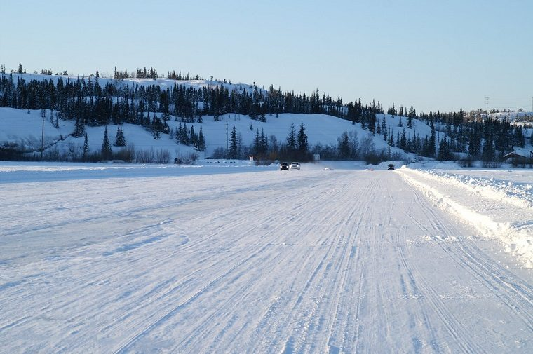 Canada ice road