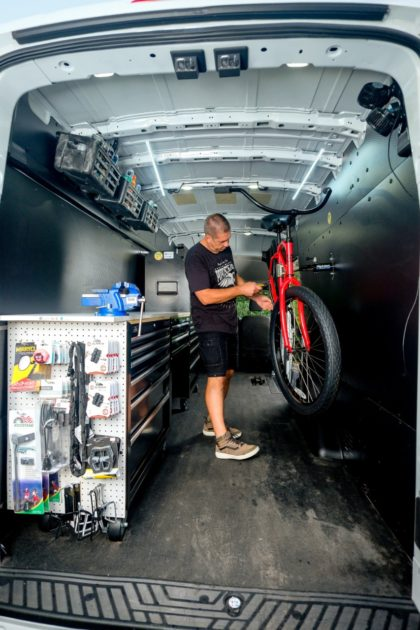 Ford Transit helps van-based businesses like POPCycle (1)