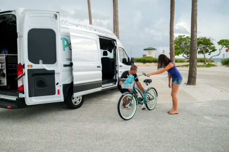 Ford Transit helps van-based businesses like POPCycles