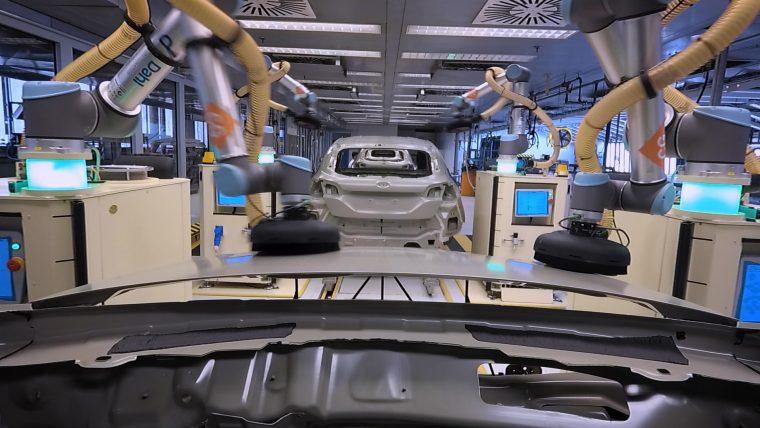 Ford collaborative robots