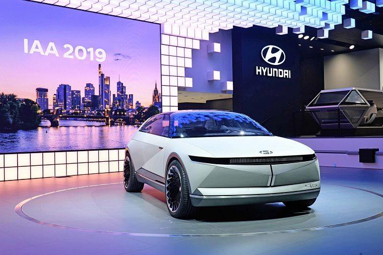 Hyundai 45 EV Concept at Frankfurt Motor Show