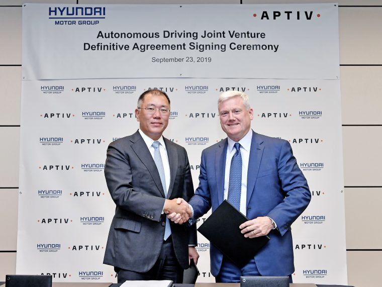 Hyundai Aptiv joint venture