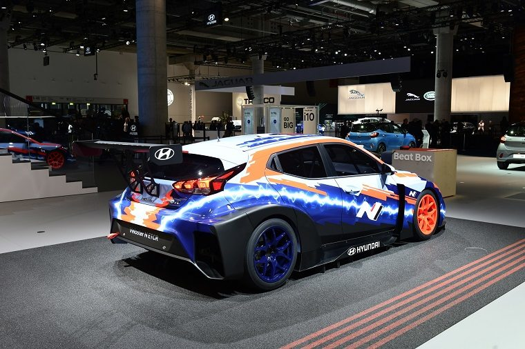 Hyundai Veloster N ETCR at Frankfurt Motor Show