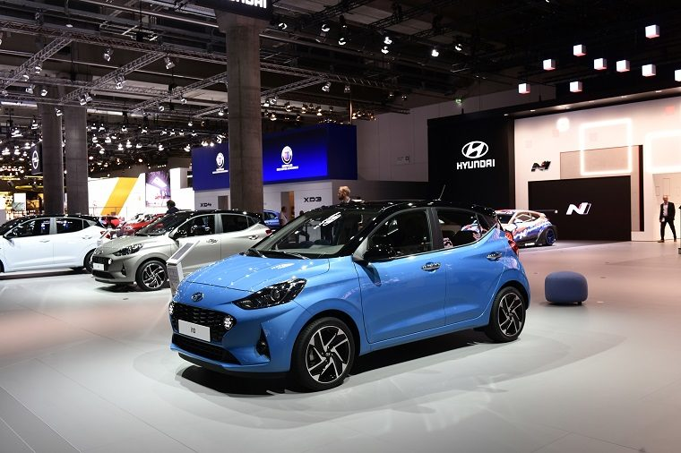 Hyundai i10 at Frankfurt Motor Show
