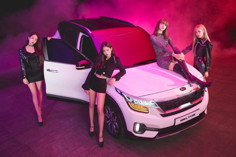 Kia Seltos Crossover Subcompact SUV India BLACKPINK