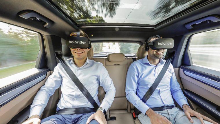 Porsche VR Backseat