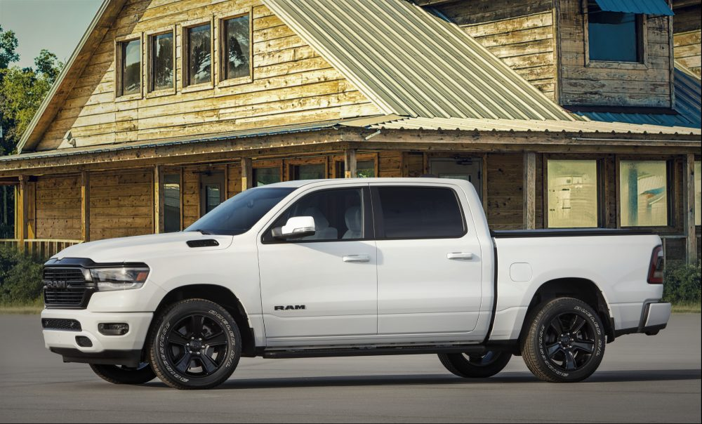 All-new 2020 Ram 1500 Night Edition 2020 Drive for Design