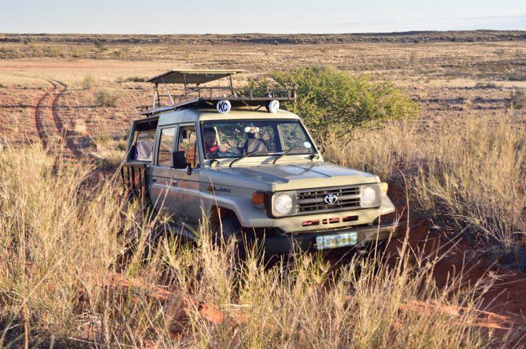 South African Safari Vehicle