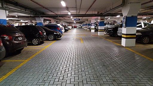Parking lot parking spot