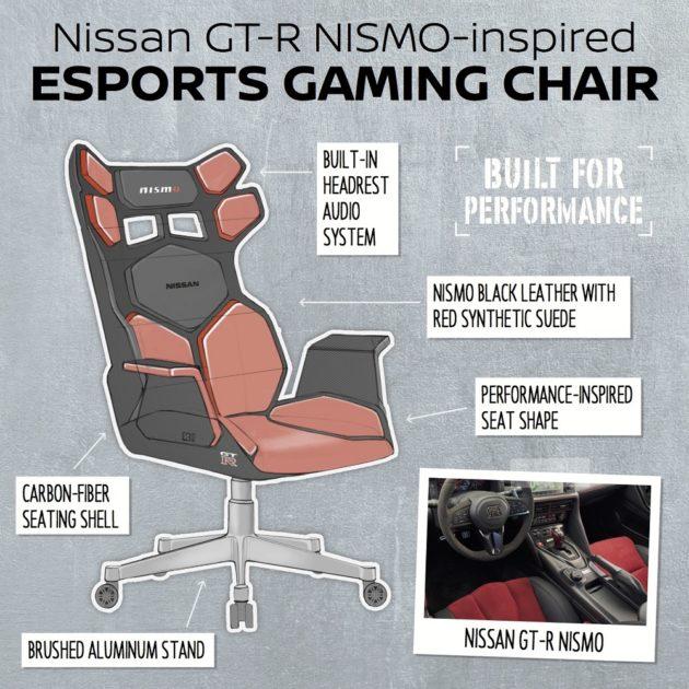 GT-rR Nismo Chair Sketch