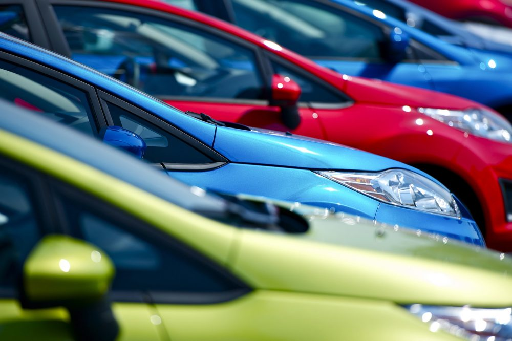 used car lot | increasing new car prices