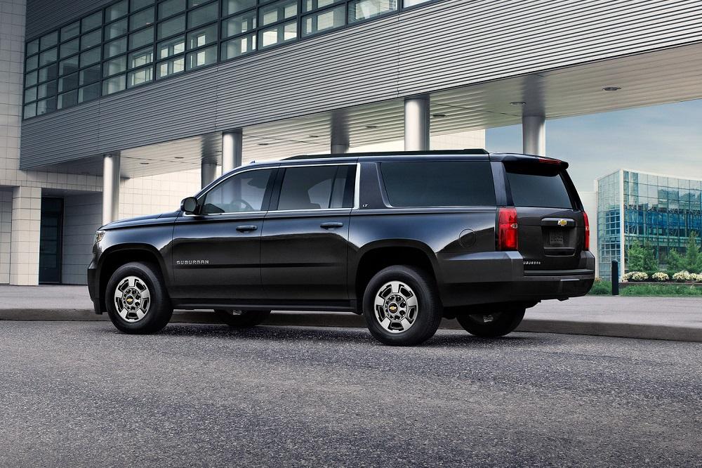 2019 Chevrolet Suburban exterior
