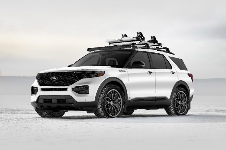 2020 Blood Type Racing Ford Explorer Limited Hybrid