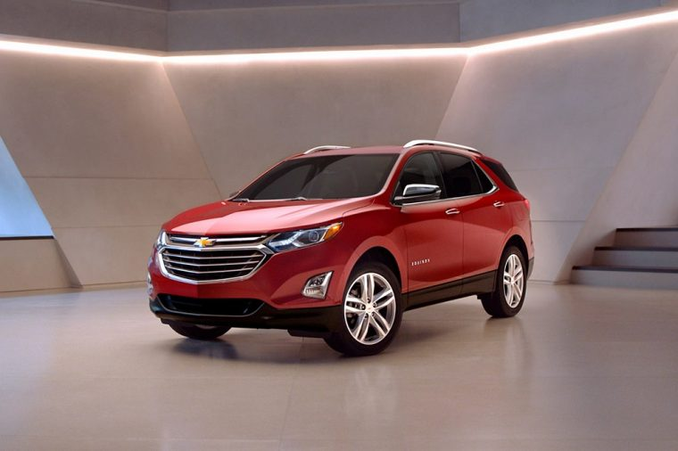 2020 Chevrolet Equinox red