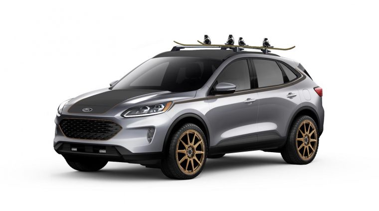 2020 LGE-CTS Motorsports Urban Ford Escape