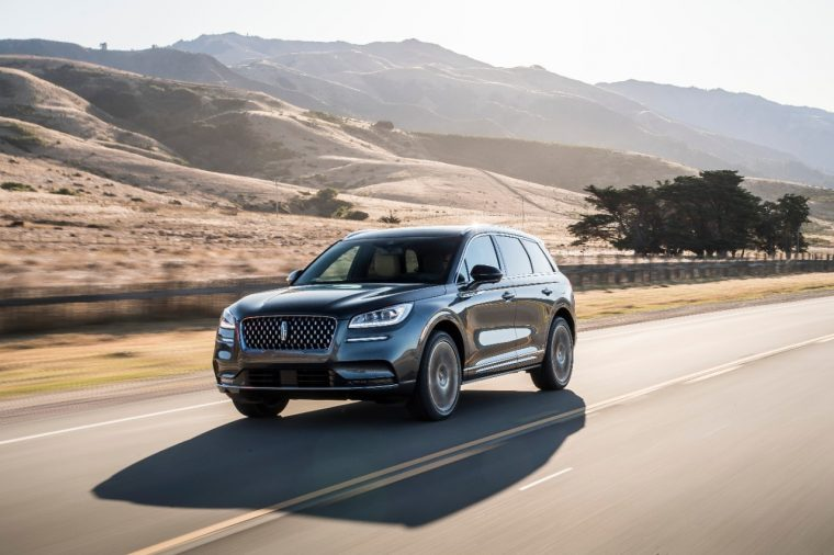 2020 Lincoln Corsair 2.3-liter turbo