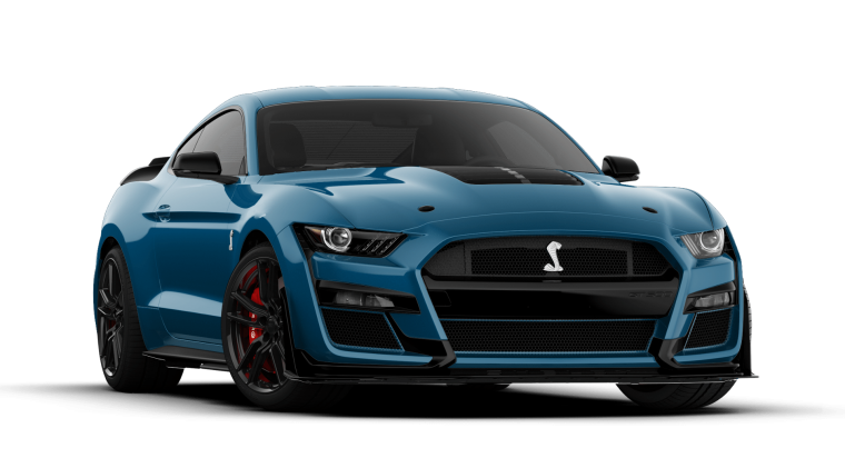 2020 Mustang Shelby GT500 Ford Performance Blue | 2020 Mustang Shelby GT500 configurator