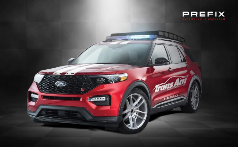2020 Prefix Ford Explorer Race Track Support Vehicle