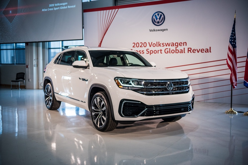 Photos Volkswagen Debuts All New 2020 Atlas Cross Sport