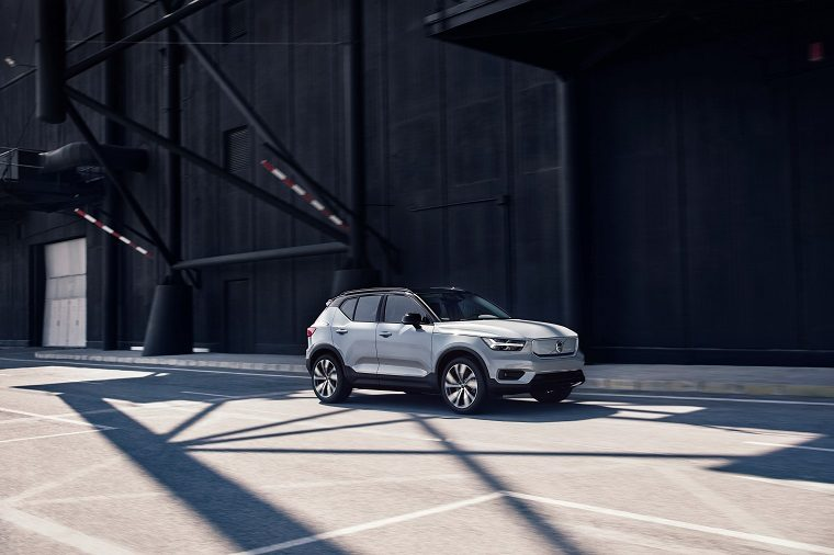 2020 Volvo XC40 Recharge, which will conform to California's emissions standards