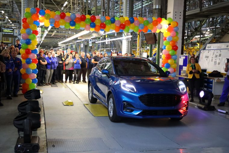 Ford Puma production